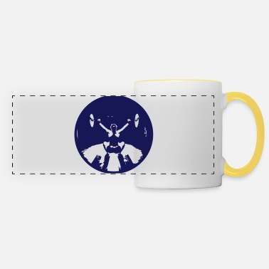 Girl Snatch Black small - Panoramic Mug