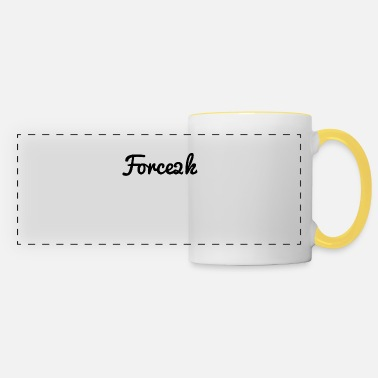 Plain Force2K Plain - Panoramic Mug