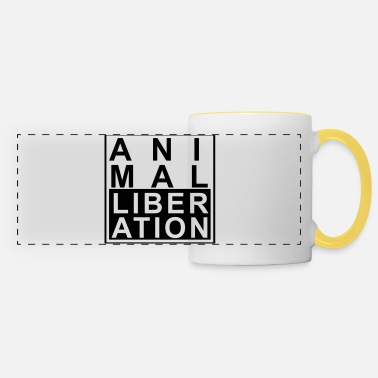Animal Animal liberation - Panoramic Mug