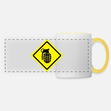 Granade granade roadsign - Panoramic Mug