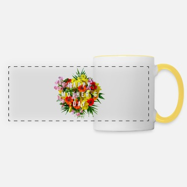 Bouquet bouquet - Panoramic Mug