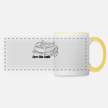 Turn Tables Turn This Table On! - Panoramic Mug