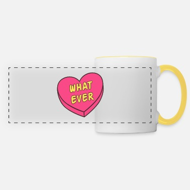What ever heart - Panoramic Mug