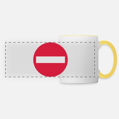 Traffic traffic - Panoramic Mug