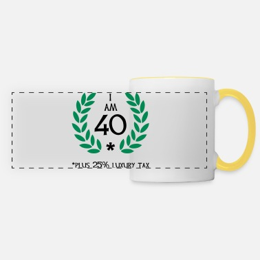 Divertidas 50 - 40 plus tax - Taza panorámica