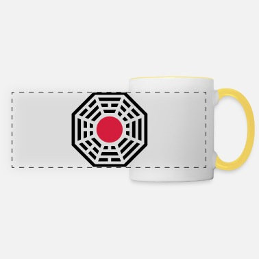 Taoist Pakua, Yin Yang, China, symbol of reality - Panoramic Mug