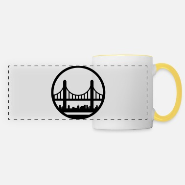 Skyline skyline - Panoramic Mug
