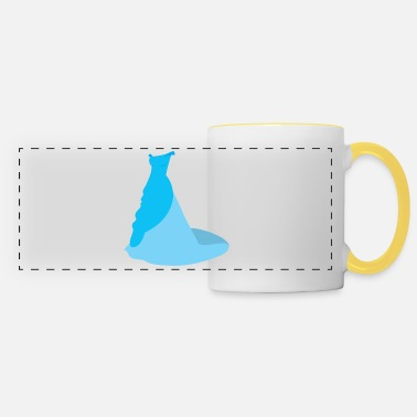 Wedding Dress Blue wedding dress - Panoramic Mug