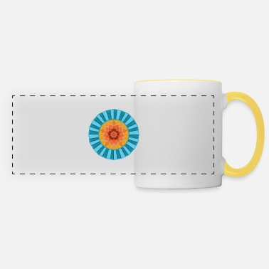 Colour Contrast Folded Card Effect Contrast Wheel - Panoramic Mug