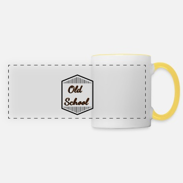 Old School old school old school - Panoramic Mug