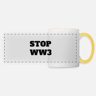 STOP WW3 - Tazza panoramica