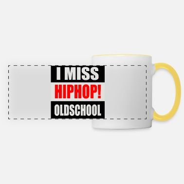 I MISS HIPHOP OLDSCHOOL LOGO 2020 RGB - Tazza panoramica