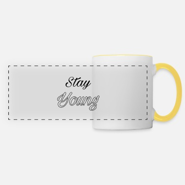 Stay young - Panoramic Mug