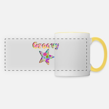 1970 S Groovy Star - Panoramic Mug