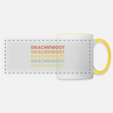 Dragon Boat Dragon Boat Dragon Boat Dragon Boat - Panoramic Mug