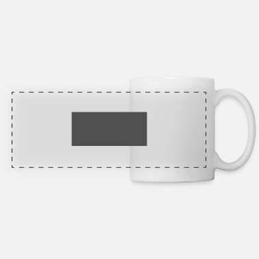 Grey grey - Panoramic Mug
