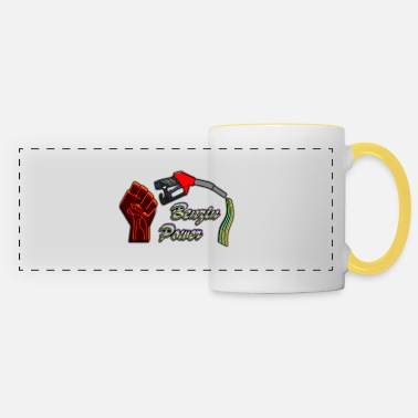Save Gasoline Gasoline power - Panoramic Mug