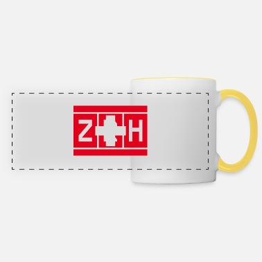 Colour Switzerland - Zurich International Airport - Panoramic Mug