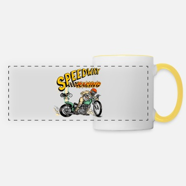 Speedway racing 1976 - Panoramic Mug