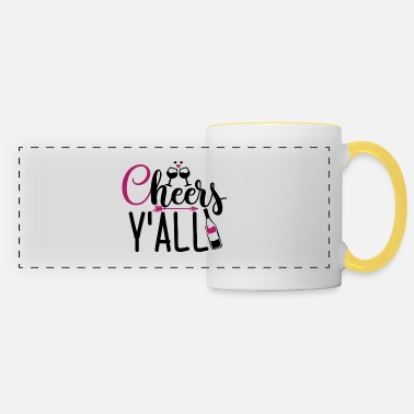 Bartender Gift for wine lovers from Cheer's Y'all - Panoramic Mug