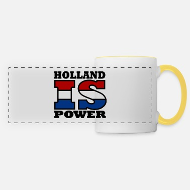 Niederlande Holland is Power - Panoramatasse