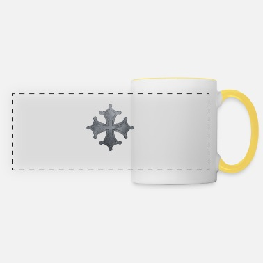 Iron Metal Occitan cross metal iron - Panoramic Mug