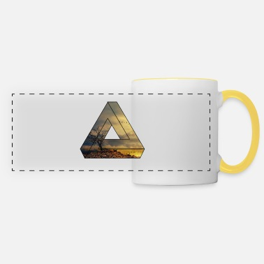 Nature Collection Nature triangle / gift / landscape - Panoramic Mug