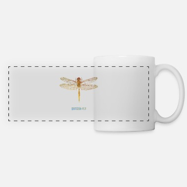 Dragonflies Dragon-Fly - Panoramic Mug