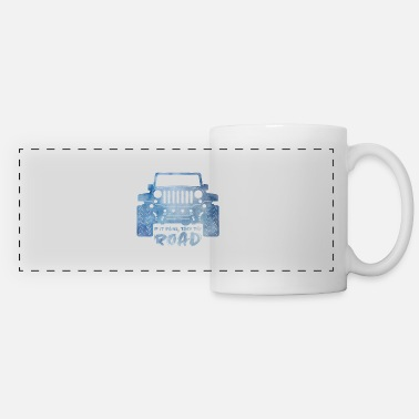 Dirt Jeep Jeep - Panoramic Mug