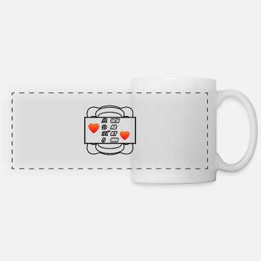 ADHD ADD chaos medicine saying - Panoramic Mug