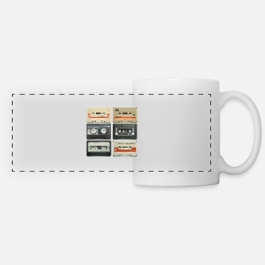 Tape vintage tape: 6 tapes - Panoramic Mug