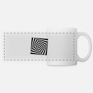 Turn The Rectangle Rotates rotating rectangle - Panoramic Mug
