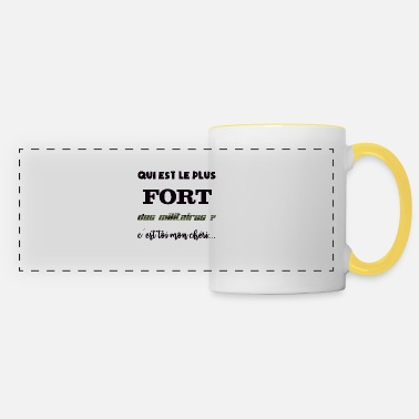 The strongest of the military - Panoramic Mug