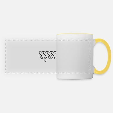 Together Together - together <3 - Panoramic Mug