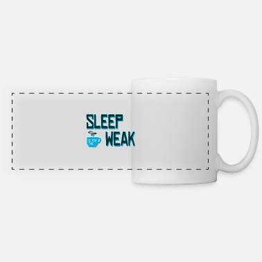 Drinker Sleep is for the weak coffee mug gift - Panoramic Mug
