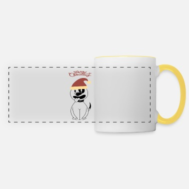 Huettenzauber Christmas dog cap gift - Panoramic Mug