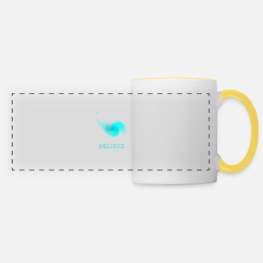 Believing Believe ... Believe - Panoramic Mug