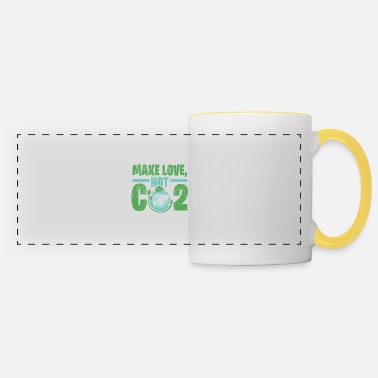 Carbon Dioxide Earth carbon dioxide gift environment - Panoramic Mug
