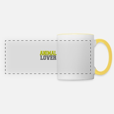 Animal Lover Animal lover - Animal lover - Panoramic Mug