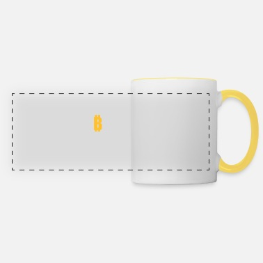Currency Crypto Currency - Panoramic Mug