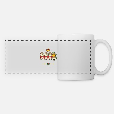 It's Good To Be Different To Santa Claus Autist - Panoramic Mug