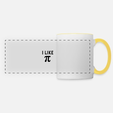 Cute I like pi - Panoramic Mug