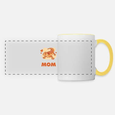 Bearded Dragon Reptile Lover Dragon Breeding Gift - Panoramic Mug