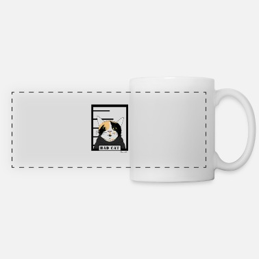 Bad Cat Bad cat - Panoramic Mug