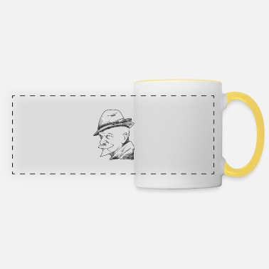 Ore Mountains Erzgebirge, dialect, history - Panoramic Mug