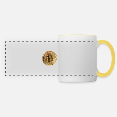 Piece bitcoin piece - Panoramic Mug