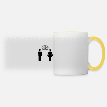 Conflict Conflict couple - Panoramic Mug