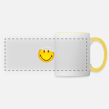 Injured Smiley Injured - Panoramic Mug