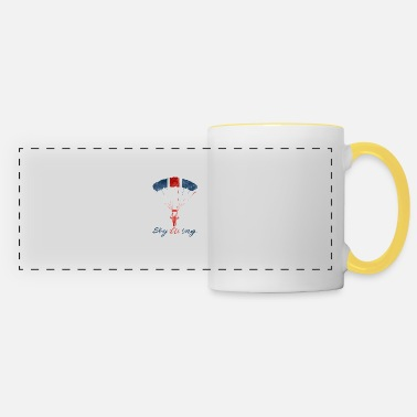Uk #UK Parachutisme - Mug panoramique