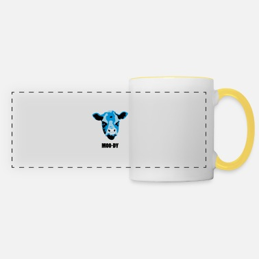 Moody Moody Cow - Panoramic Mug